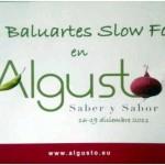Feria SlowFood de productos Artesanos y Ecológicos Algusto