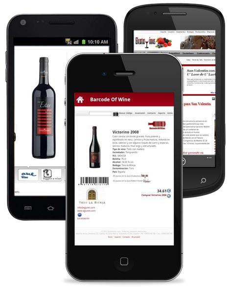 aplicación Barcode of Wine