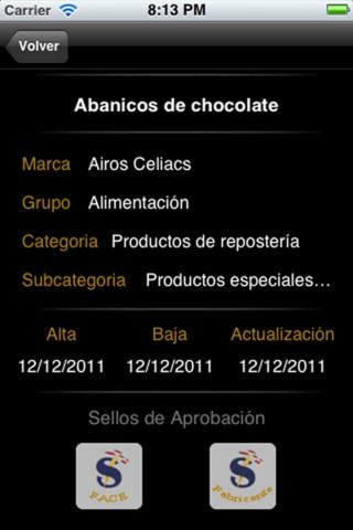 app Glutenfreelist