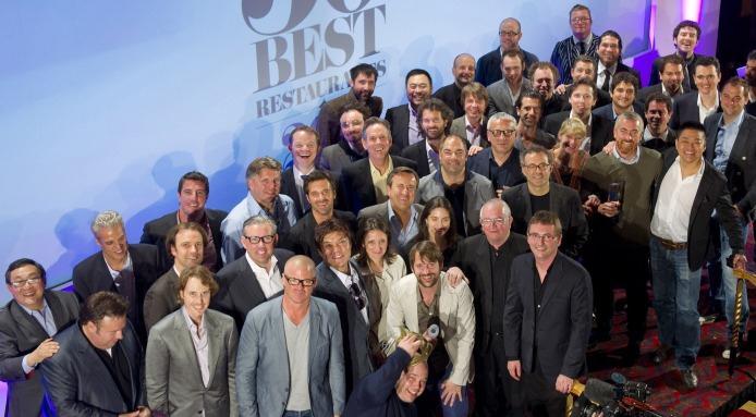 Los cocineros de lso 50 mejores restaurantes del 2012