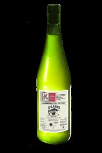 Botella Sidra Uxarte Euskolabel