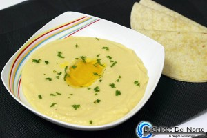 Receta para elaborar Hummus MahatsHerri