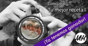 cabecera concurso recetas Agosto 2015 ganador